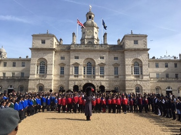 Coldsream Guards and Commonwealth Youth Choir